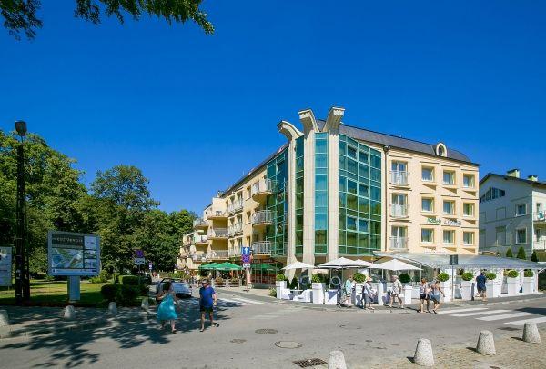 4 Tage 2+2 Familien Kurz Urlaub Misdroy Swinemünde Apartmenthaus Malachit Ostsee