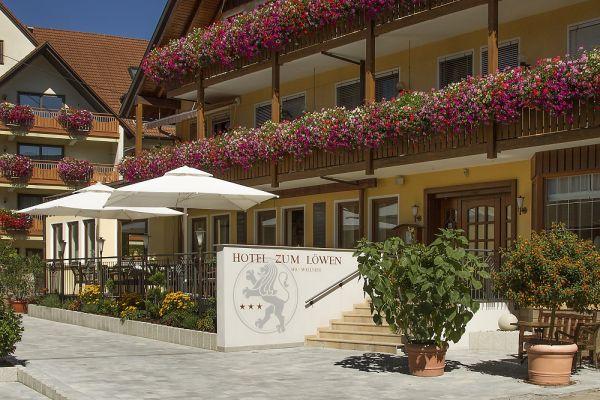 4ÜN/2P/FR 3 Sterne Hotel Zum Löwen Wellnessoase Bayern