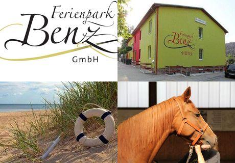 6 Tage Urlaub Insel Usedom mit Familie Reiterferien Ferienpark Benz Ostsee FeWo